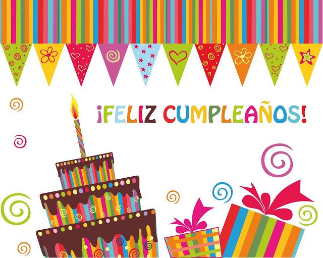 4 Pasteles De Feliz Cumpleaños