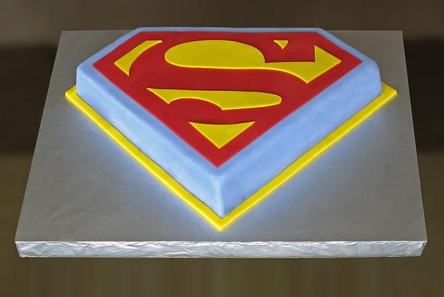 pastel cumpleaños superman